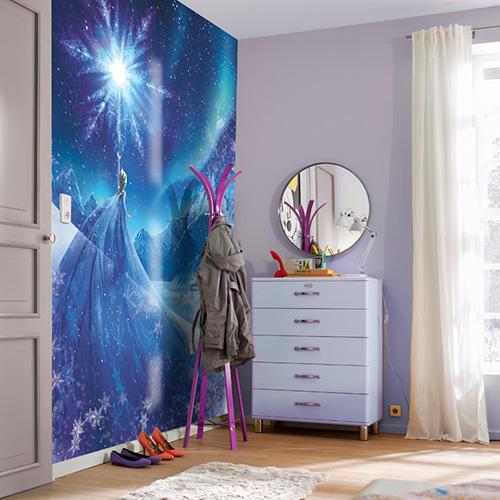 behang winkel online fotobehang frozen snow queen