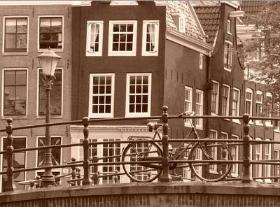 ... Voor exclusief behang en wanddecoratie - Vlies fotobehang Amsterdam