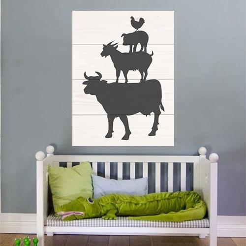 Behangrol - Voor exclusief behang en wanddecoratie - Foto op Hout