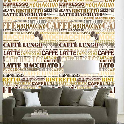 Fotobehang Espresso