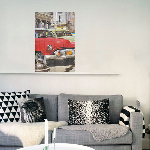 wanddecoratiewinkelonlinenl foto cuba op hout