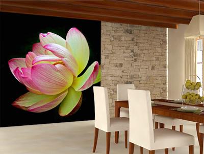 Behangrol voor exclusief behang en wanddecoratie fotobehang - Behang voor restaurant ...