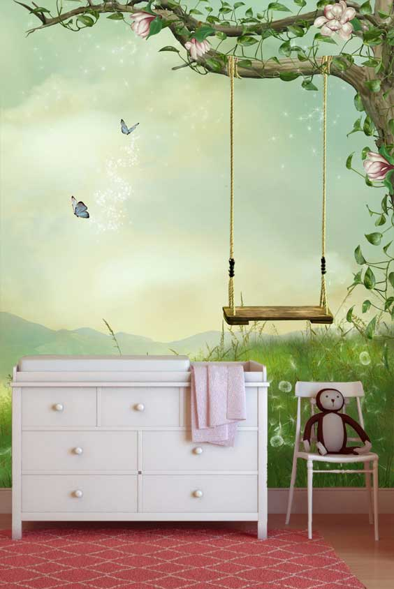 sprookjes wereld - Sprookjes Behang