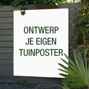 Tuinposter