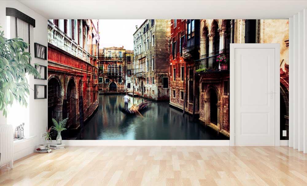 Vlies fotobehang Venetië