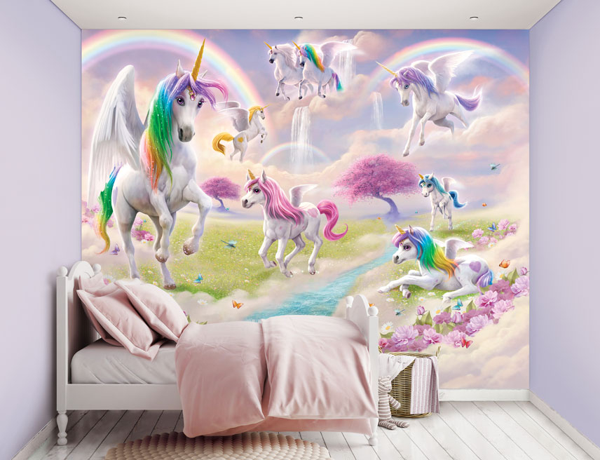 Walltastic Magical Unicorn XXL