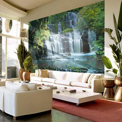 Fotobehang Pura Kanui Falls