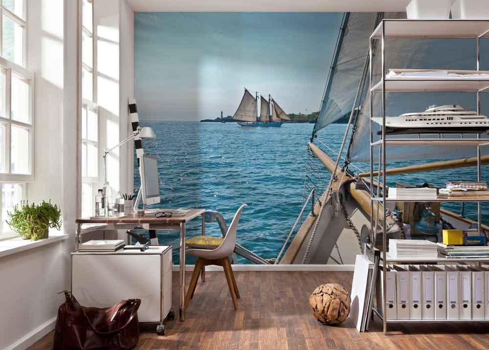 Fotobehang Sailing
