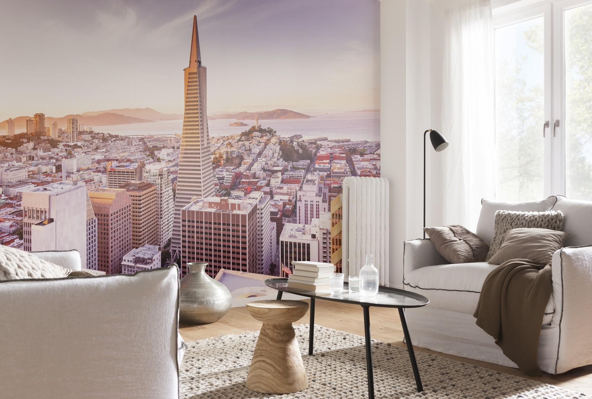 Fotobehang San Francisco Morning