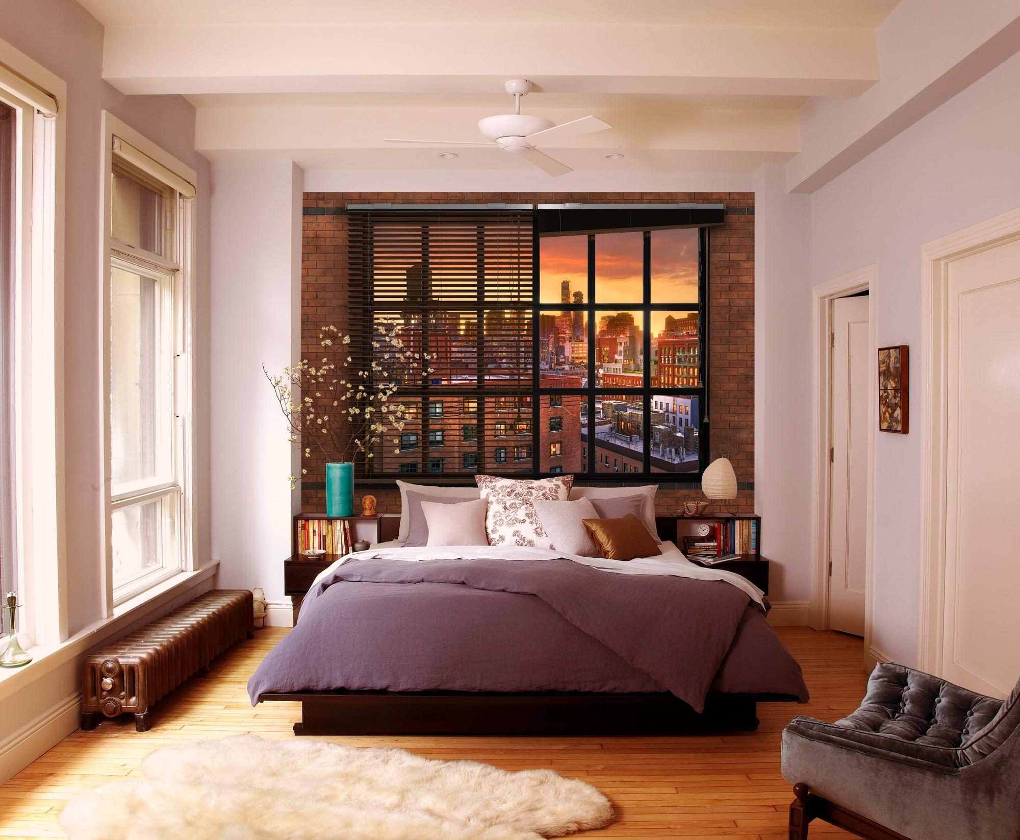 Fotobehang Brooklyn Brick