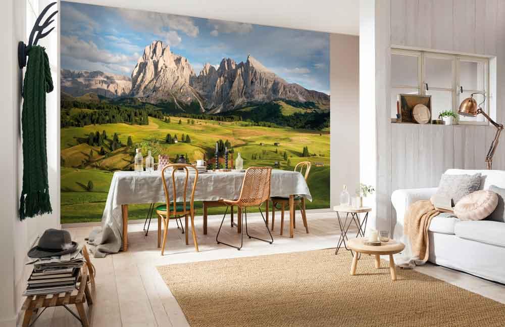 Fotobehang Alpen