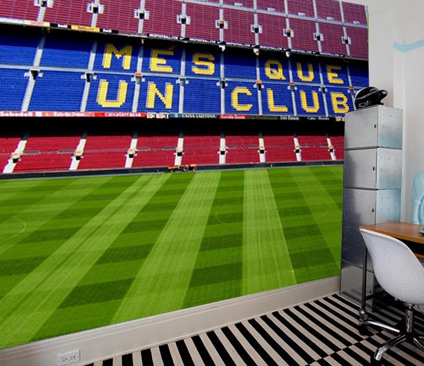 Vlies fotobehang Camp Nou Barcelona