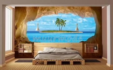 Fotobehang Paradise