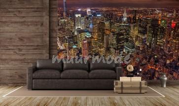 Fotobehang Lights of New York