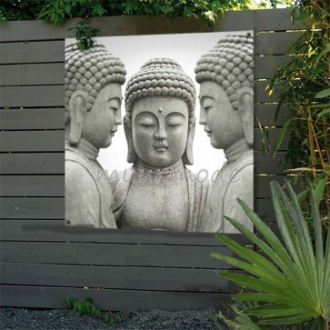 Tuinposter Boeddha beelden