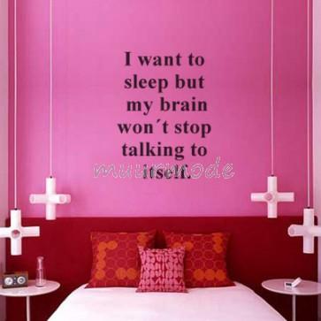 Tekststicker Braintalk
