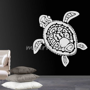 Muursticker schildpad