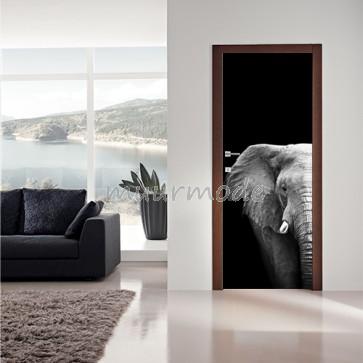Deursticker Olifant