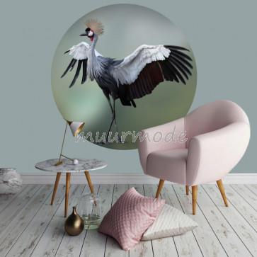 Behangcirkel Kraanvogel 1