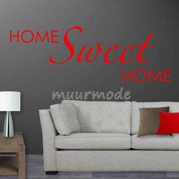 Tekststicker Home sweet home