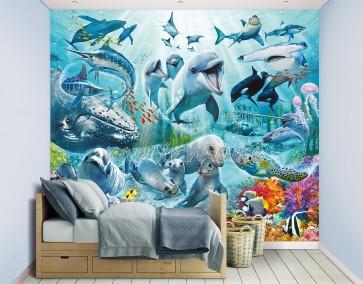 Walltastic Onderwater Sea Adventure XXL