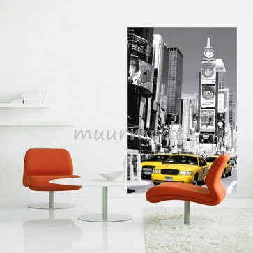 Muurposters New York.Muurposter Times Square Zwart Wit
