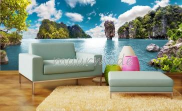 Fotobehang Baai in Thailand
