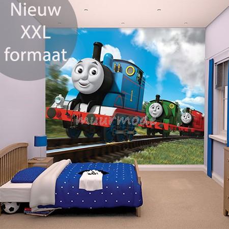 Uitgelezene Walltastic Thomas de trein XXL   Muurmode.nl TQ-55