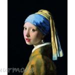Canvas schilderij Meisje met de parel