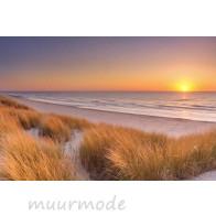 Vliesbehang zonsondergang op Texel_285x190
