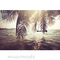 Vlies fotobehang Tropical beach