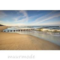 Vlies fotobehang Verlaten strand