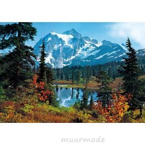 Fotobehang Mountain Morning