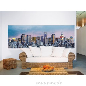 Fotobehang New York skyline