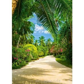 Fotobehang Tropical Pathway