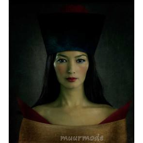 Vlies fotobehang Portret vrouw