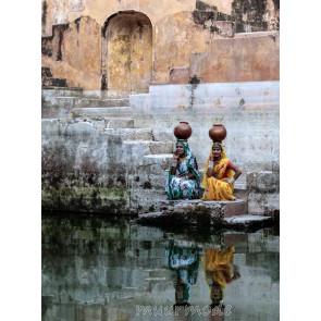 Vlies fotobehang India