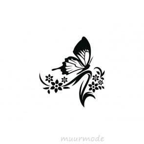 Interieursticker Vlinder