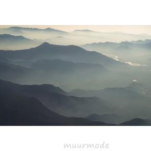 Vlies fotobehang Bergmystiek