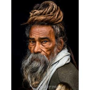 Vlies fotobehang Portret man