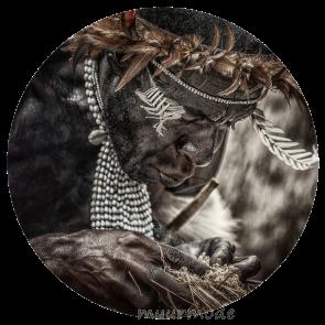 Behangcirkel Tribe