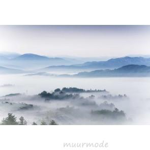 Vlies fotobehang Ochtend landschap