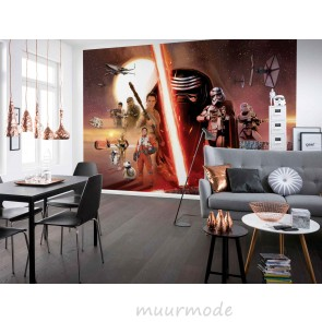 Fotobehang Star Wars EP7 Collage