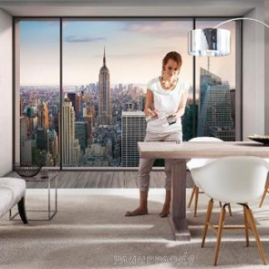 Muurposters New York.New York Behang Fotobehang Van New York