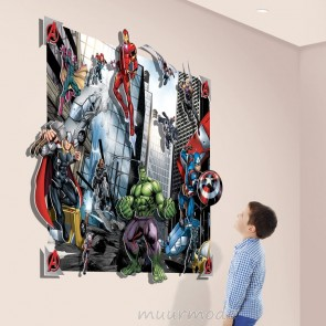 Walltastic Avengers Pop Out behang