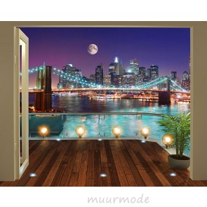 Walltastic Brooklyn Bridge NYC XXL