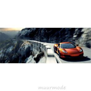Vlies fotobehang McLaren on the road