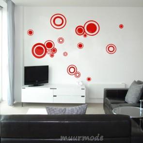 Interieursticker Cirkels