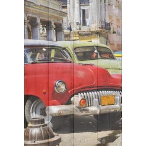 Foto Cuba op hout
