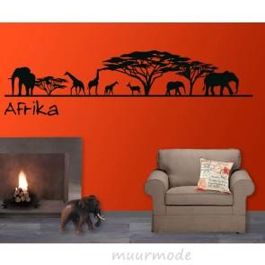 Muursticker Safari Afrika